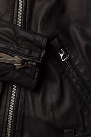 MDK / Munderingskompagniet - London thin leather jacket - skinnjackor - black - 4