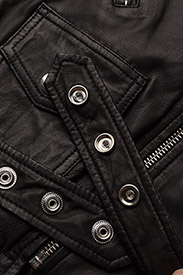 MDK / Munderingskompagniet - London thin leather jacket - skinnjackor - black - 5