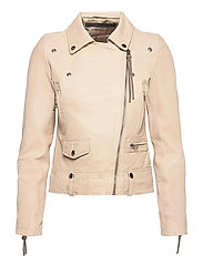 Seattle new thin leather jacket (yellow) - SAND SHELL