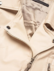 MDK / Munderingskompagniet - Seattle new thin leather jacket (yellow) - skinnjackor - sand shell - 2