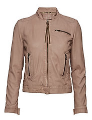 Karla thin jacket - MUSHROOM