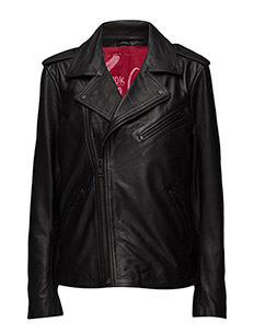 Fabio biker jacket (black) - BLACK