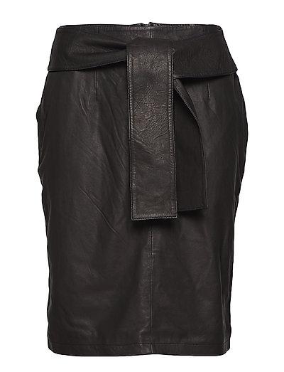 Evren thin skirt (black) - BLACK