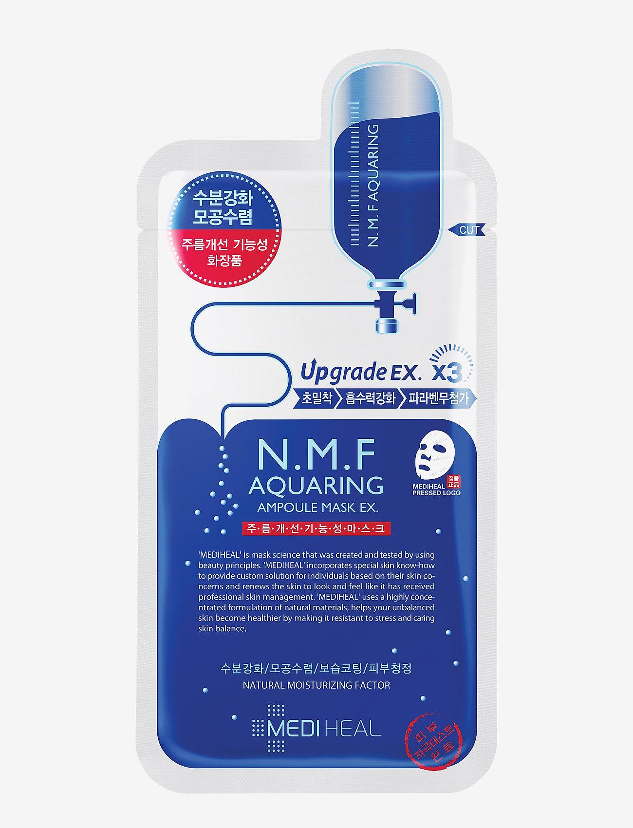 Mediheal - Mediheal N.M.F Aquaring Ampoule Mask - sheet mask - clear - 0