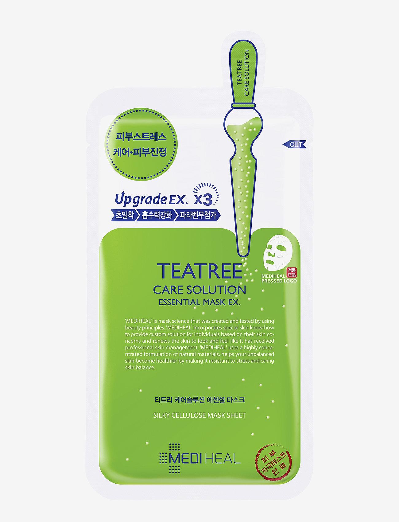 Mediheal - Mediheal Teatree Care Solution Essential Mask - sheet mask - clear - 0