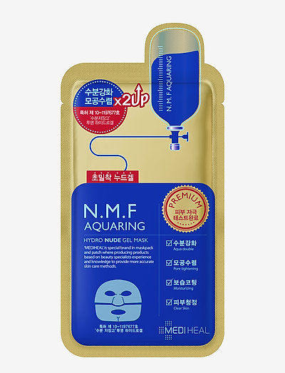 Mediheal N.M.F Aquaring Nude Gel Mask - sheet mask - clear