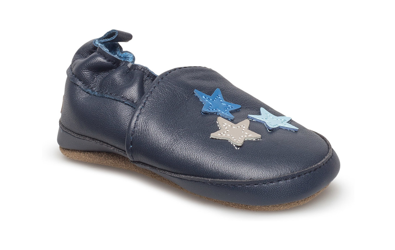 Melton Leather shoe - Stars - 287 BLUE NIGHTS