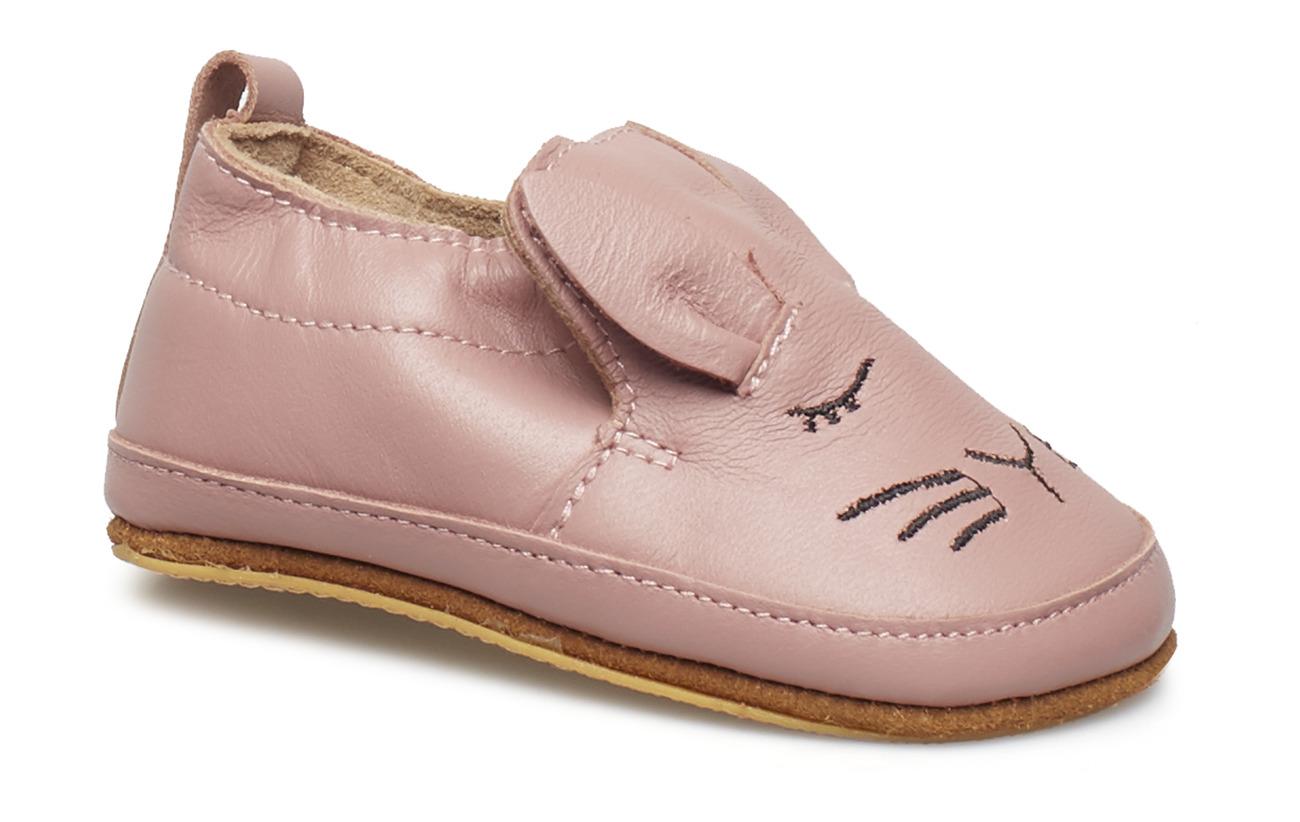 Melton Luxury Leather Shoe - Rabbit - ALT ROSA