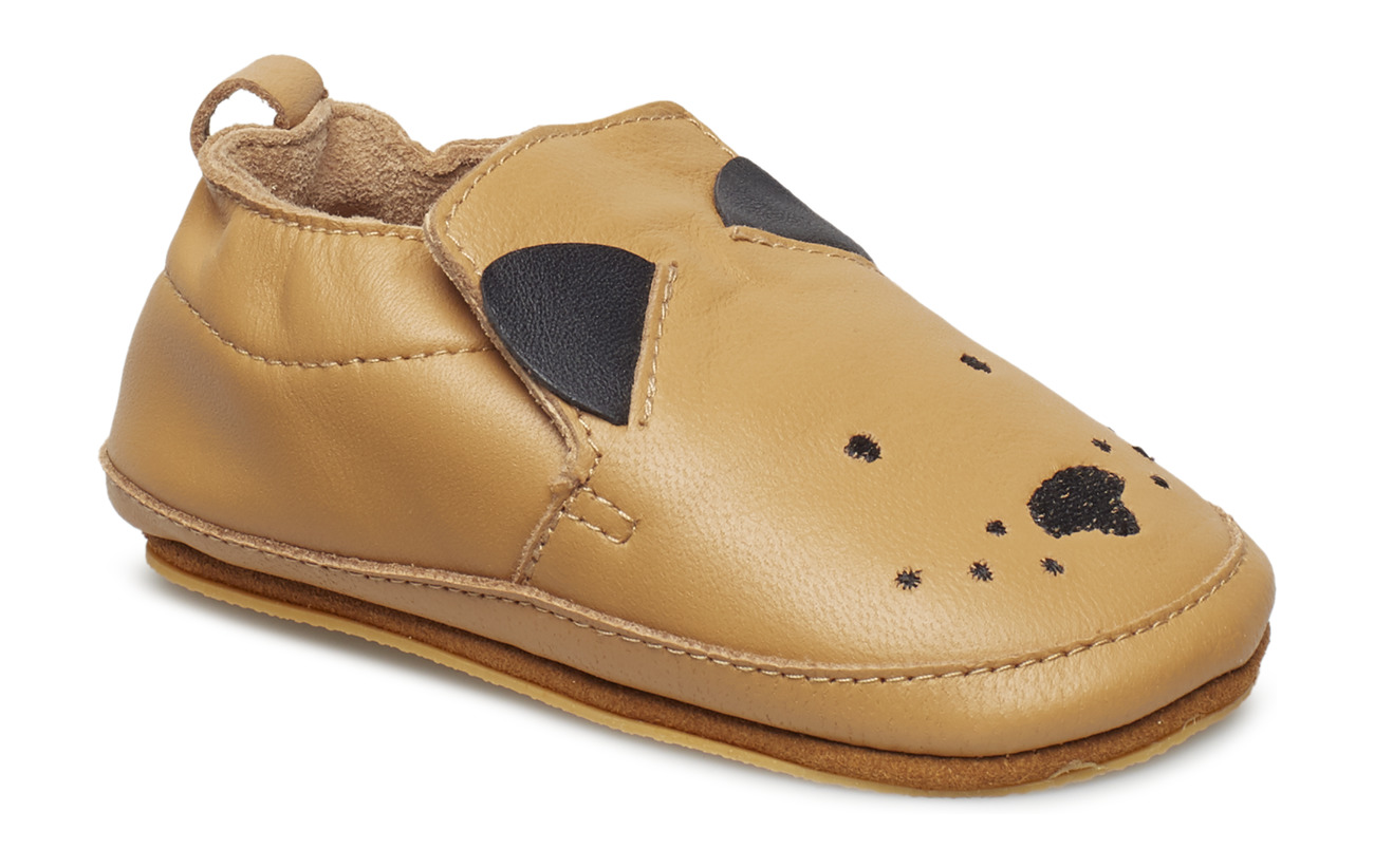 Melton Luxury Leather Shoe - Dog - CAMEL