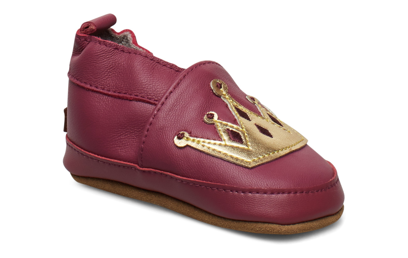 Melton LEATHER Shoe - Crown - ROUGE RED