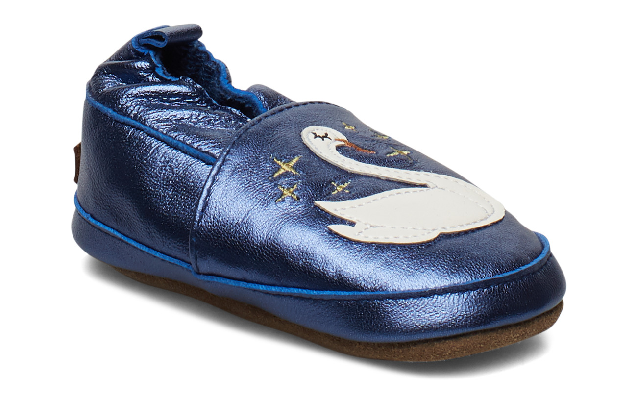 Melton LEATHER Shoe - Swan - MARINE