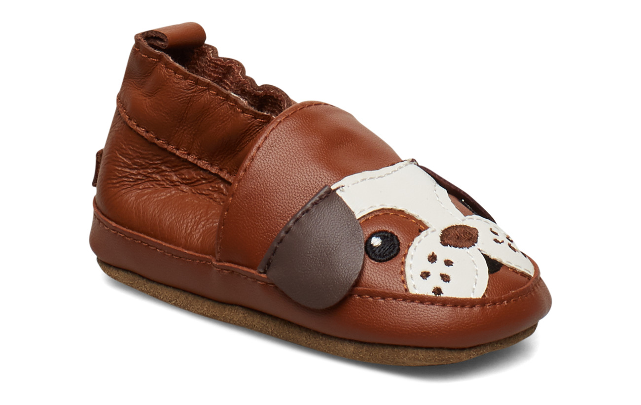 Melton LEATHER Shoe - Bulldog - LEATHER BROWN