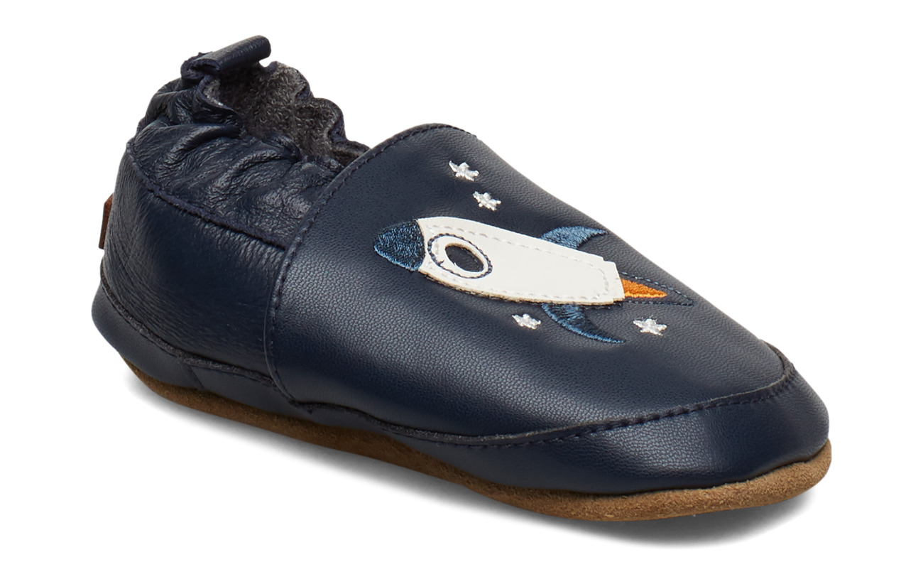 Melton LEATHER Shoe - Rocket - MARINE