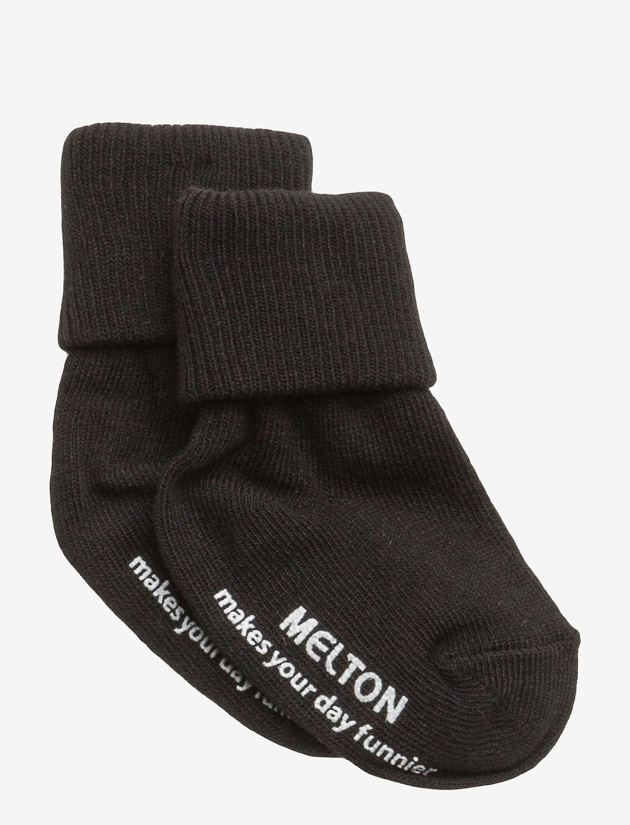Melton - Sock ABS Anti-Slip - skarpetki - 190/black - 0