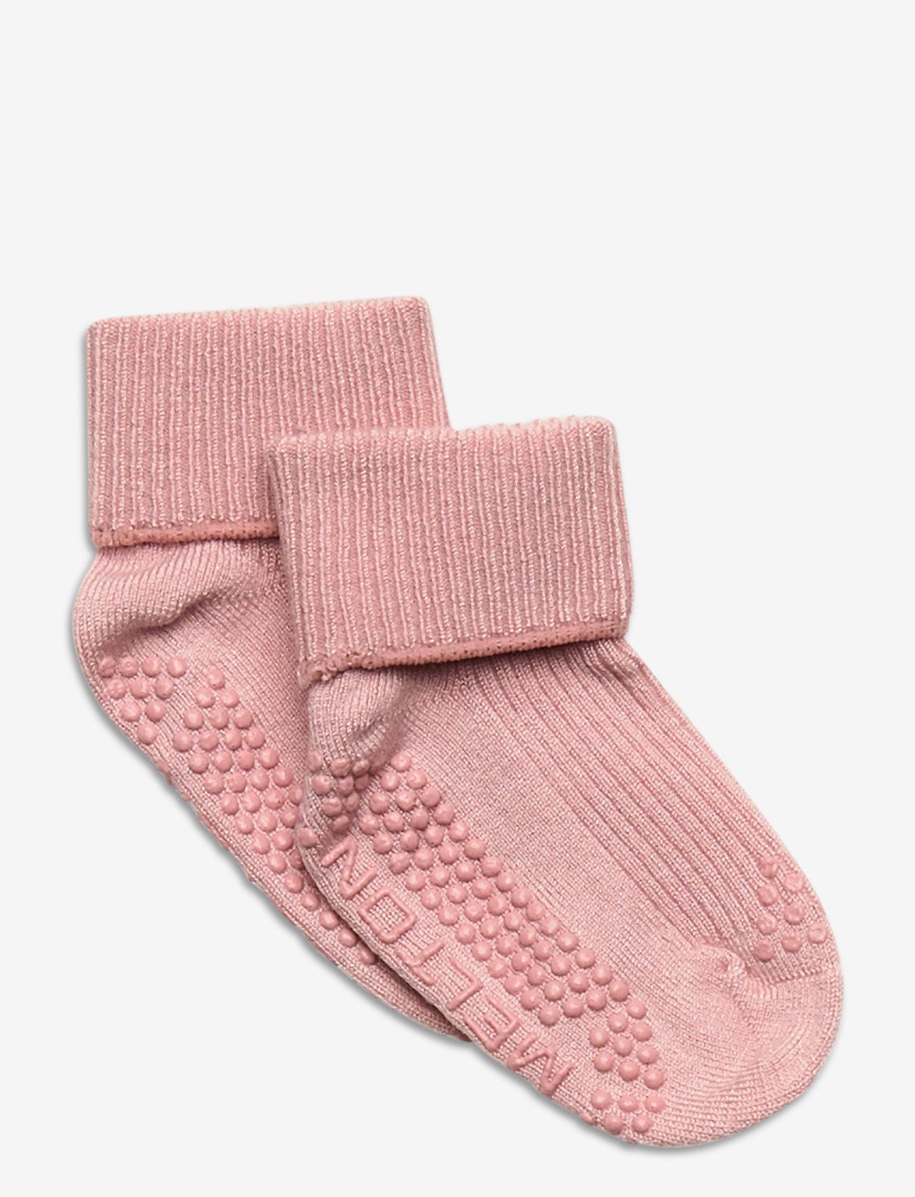 Melton - ABS Bamboo/Wool Sock - Let's G - skarpetki - rose - 0