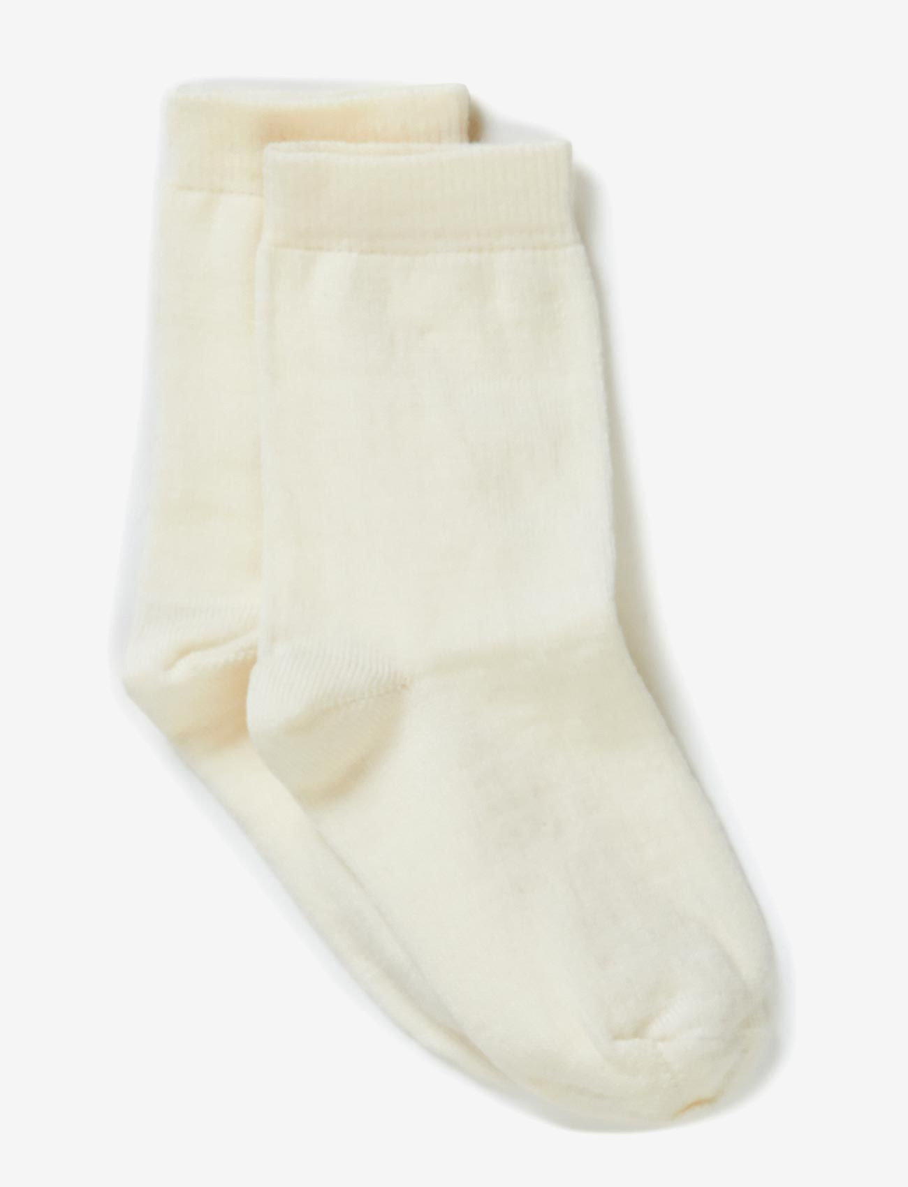 Melton - Classic, Basic Wo/Co Sock - strümpfe - 410/offwhite - 0