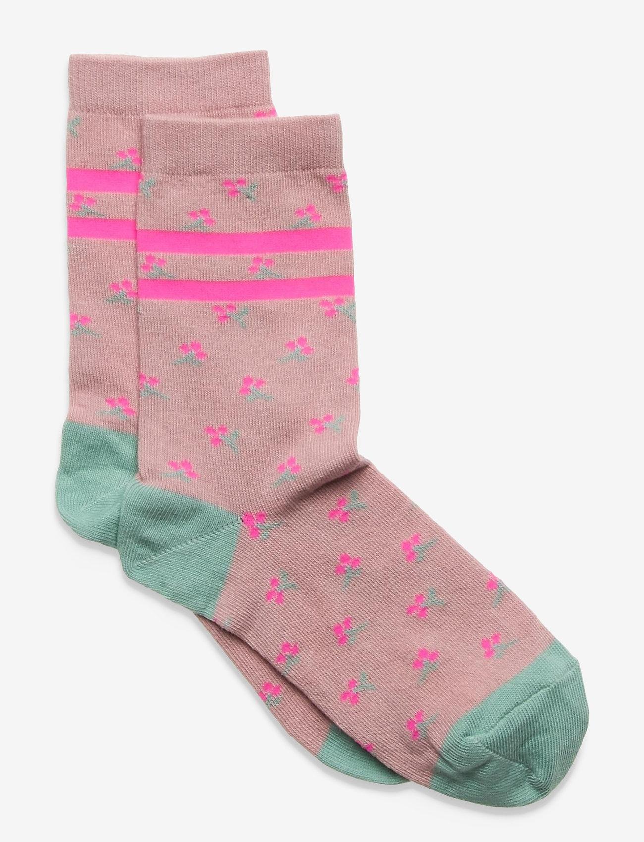 Melton - Natalie socks - skarpetki - rose - 0