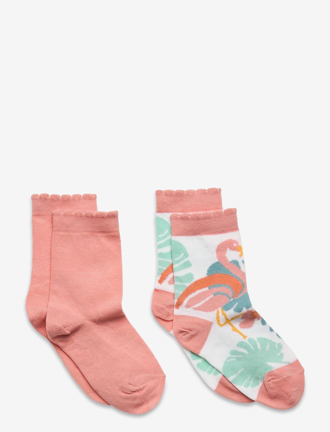 Melton - Hailey 2-pack socks - skarpetki - white - 0
