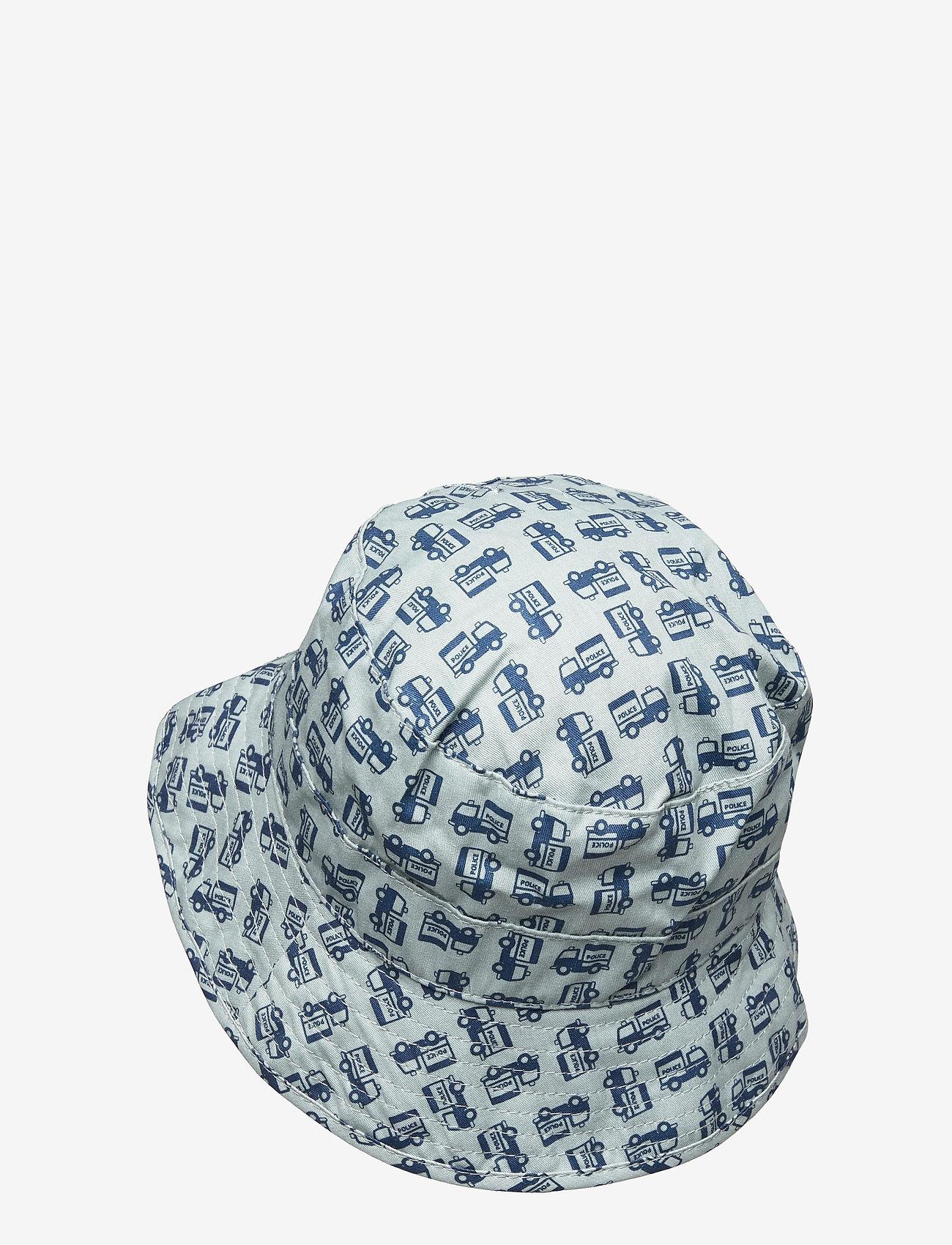 Melton - Bucket Hat w/print - kapelusz przeciwsłoneczny - blue - 1