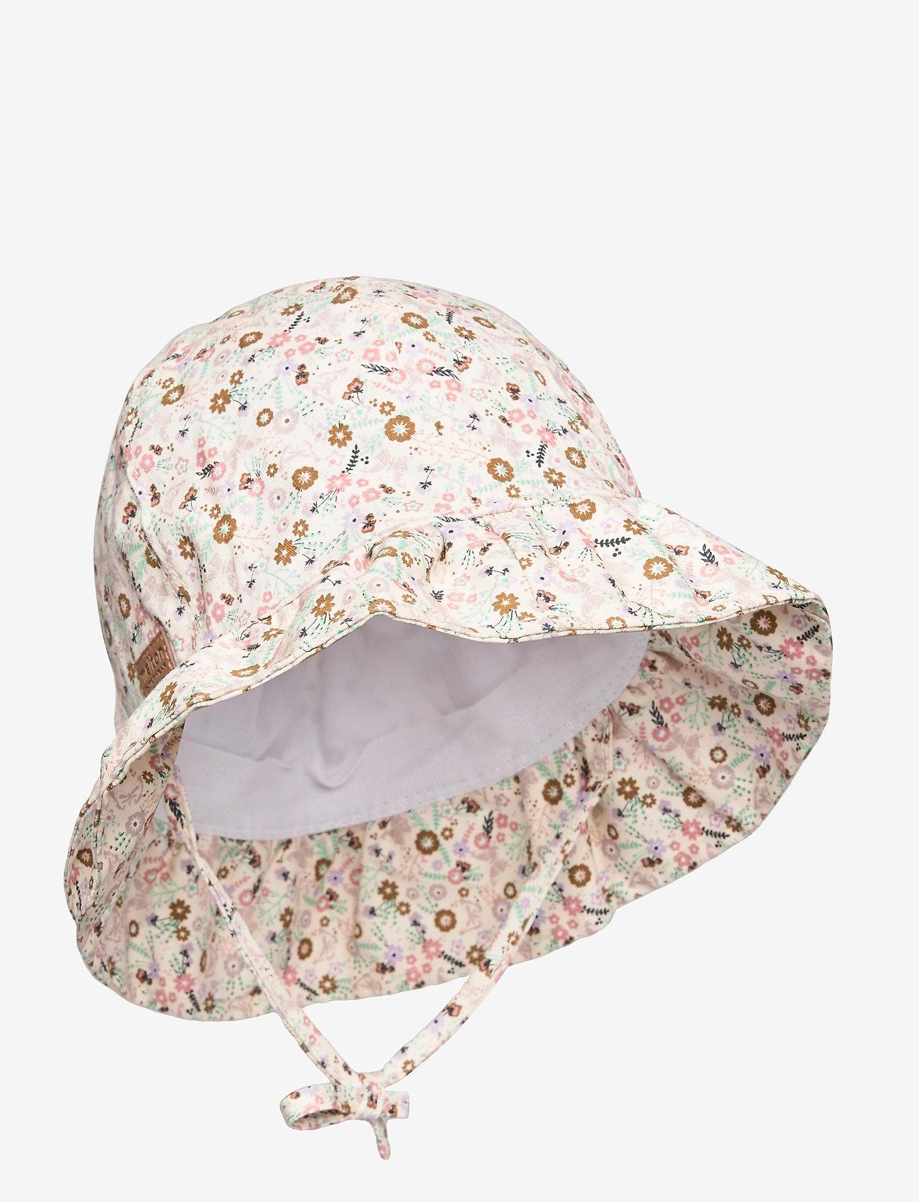 Melton - Bell Hat w/print - kapelusz przeciwsłoneczny - rose - 0