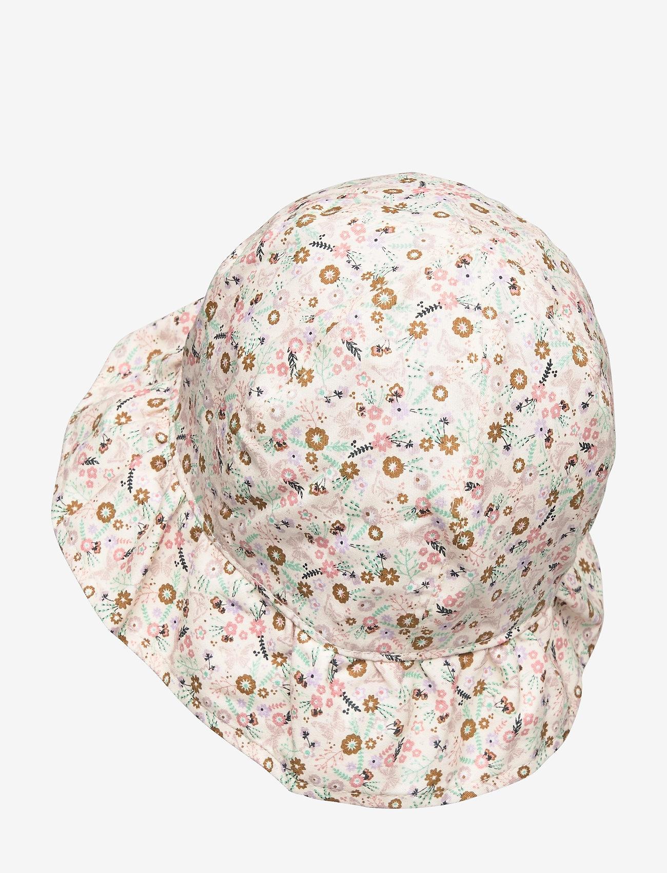 Melton - Bell Hat w/print - kapelusz przeciwsłoneczny - rose - 1