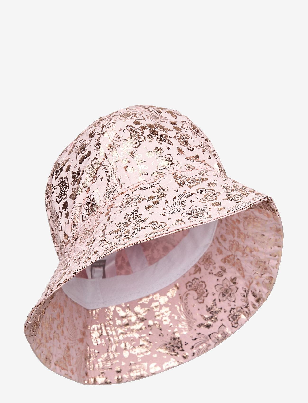 Melton - Bell hat with print - kapelusz przeciwsłoneczny - rose - 0