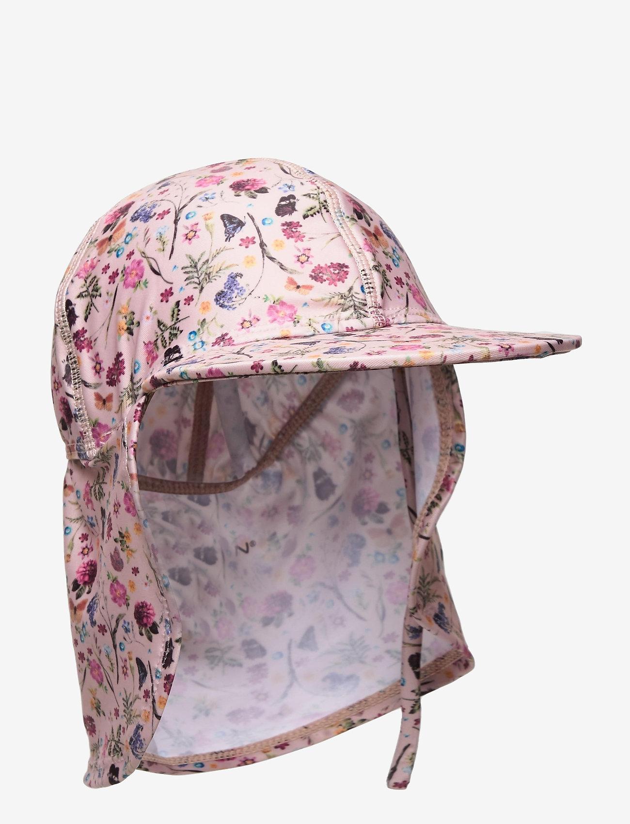 Melton - UV Swim Hat Flower - kapelusze przeciwsłoneczne - rose - 0