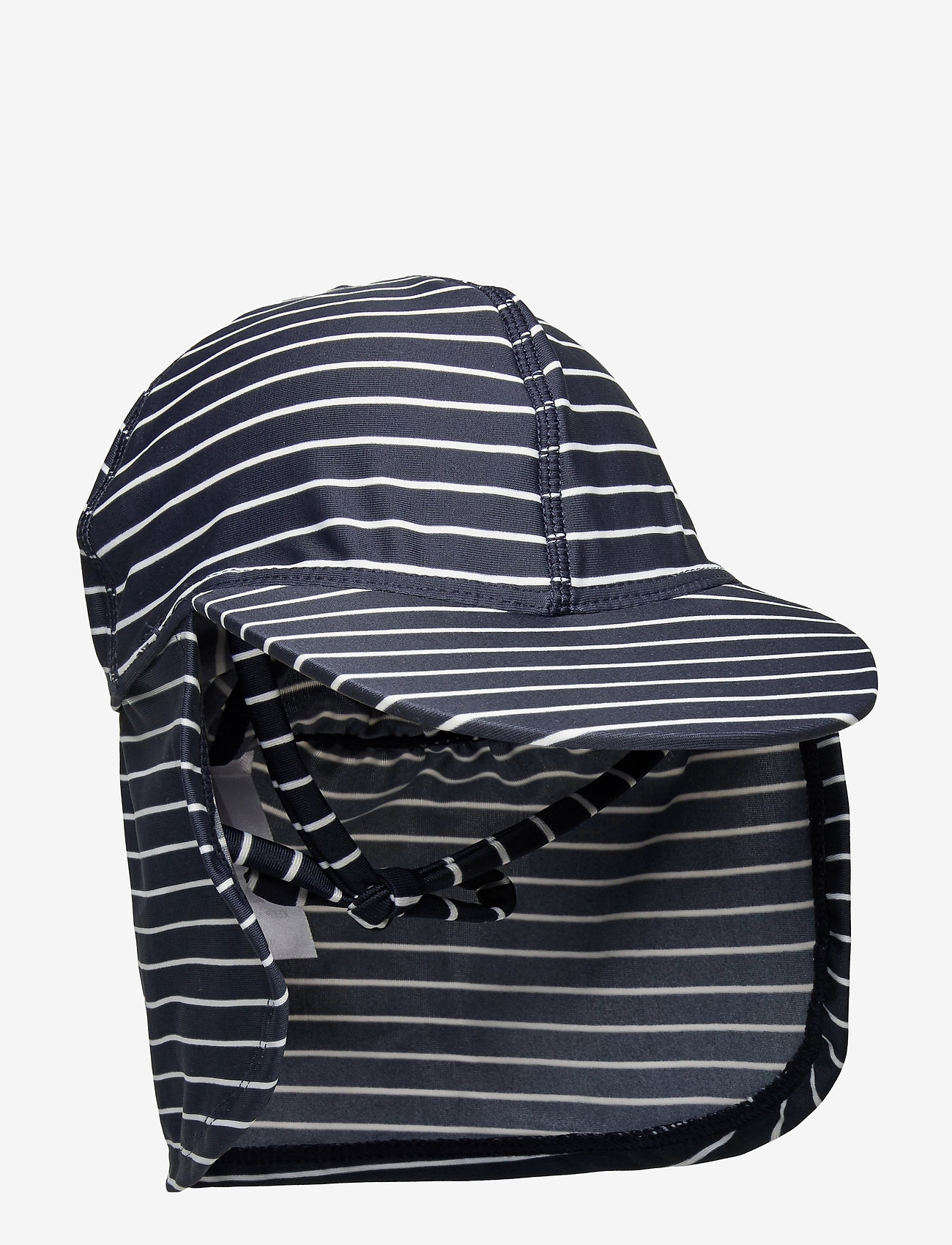 Melton - UV Swim Hat Stripe - czapki - blue - 0