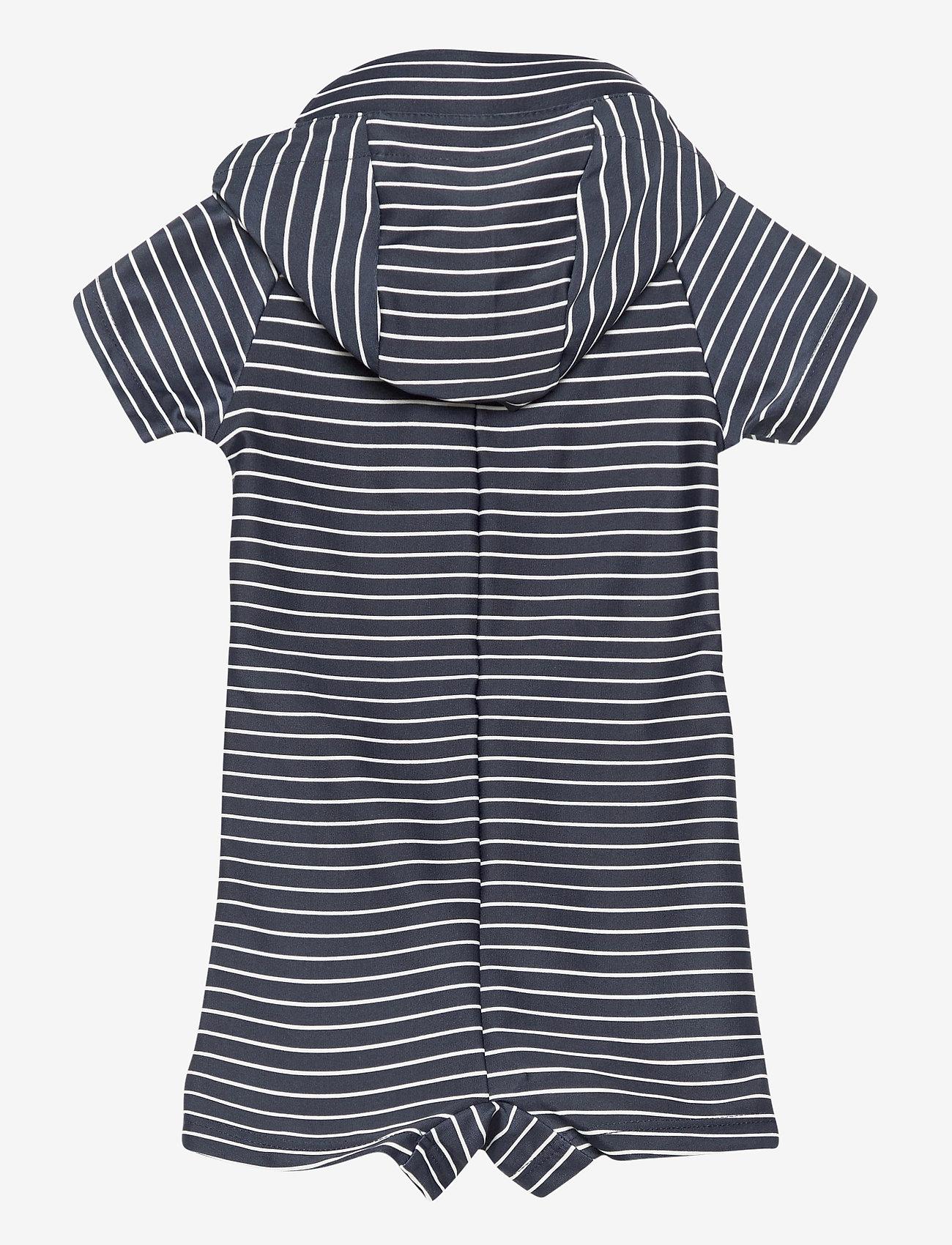 Melton - UV Swim Boy Suit Stripe - stroje kąpielowe uv - blue - 1