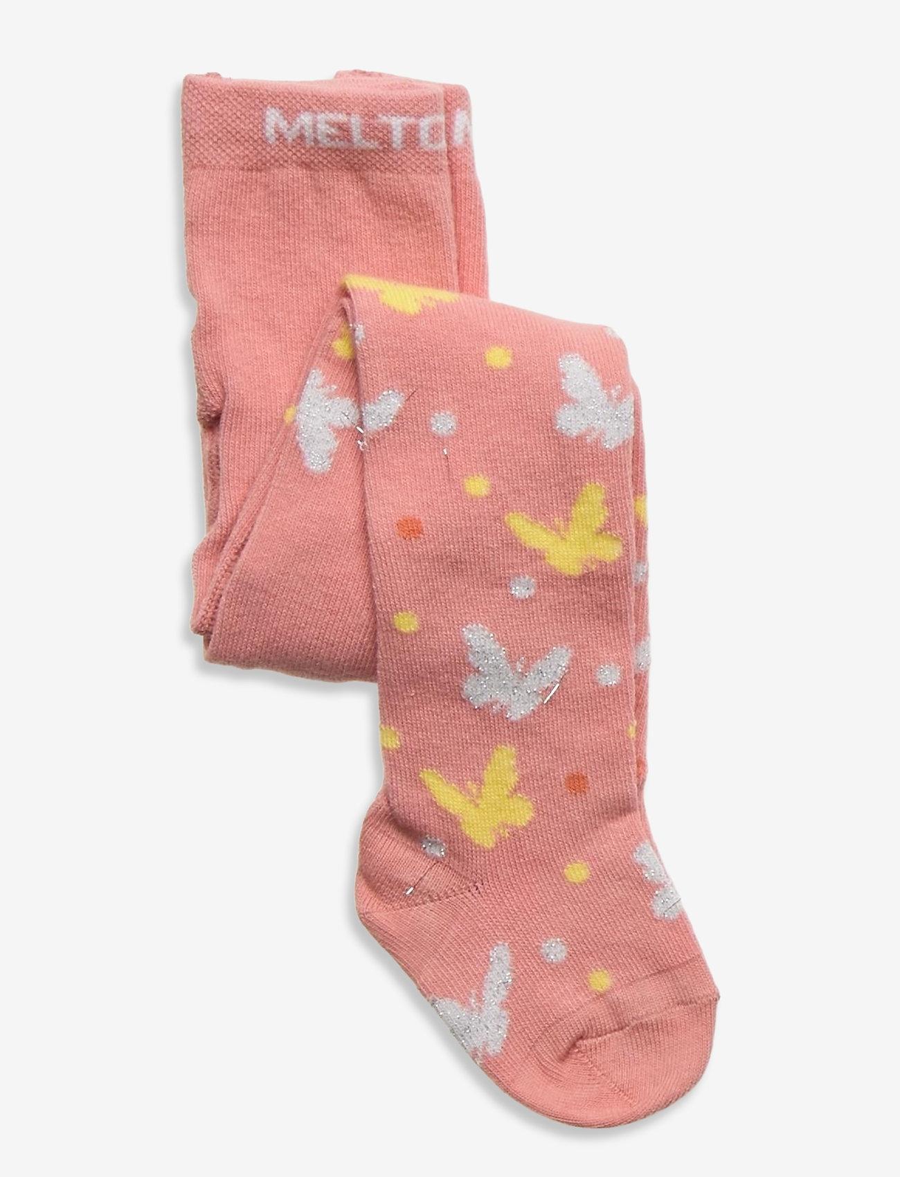 Melton - Audrey tights - rajstopy - rose - 0