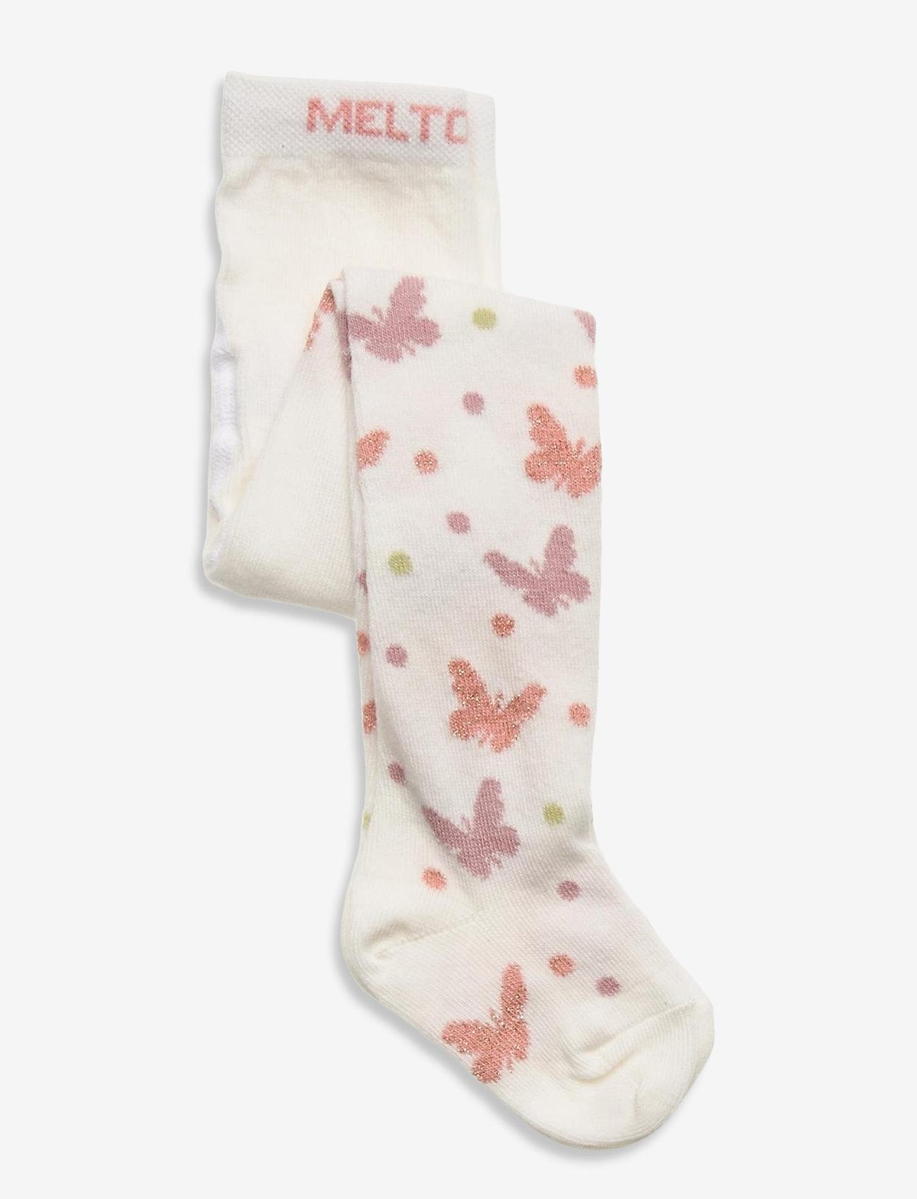 Melton - Audrey tights - rajstopy - white - 0