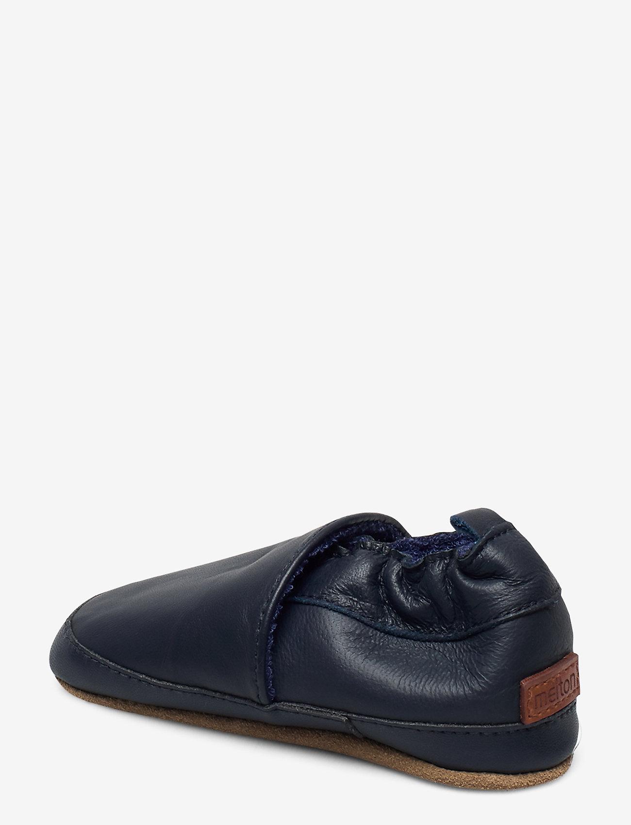 Melton - Leather shoe - Loafer - domowe - 287/bluenights - 1