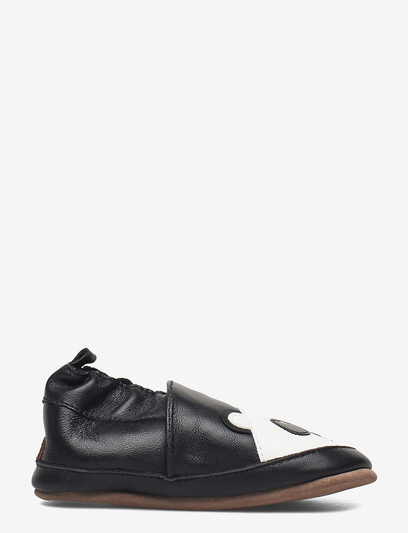 Melton - Leather Shoe - Panda - schuhe - black - 1
