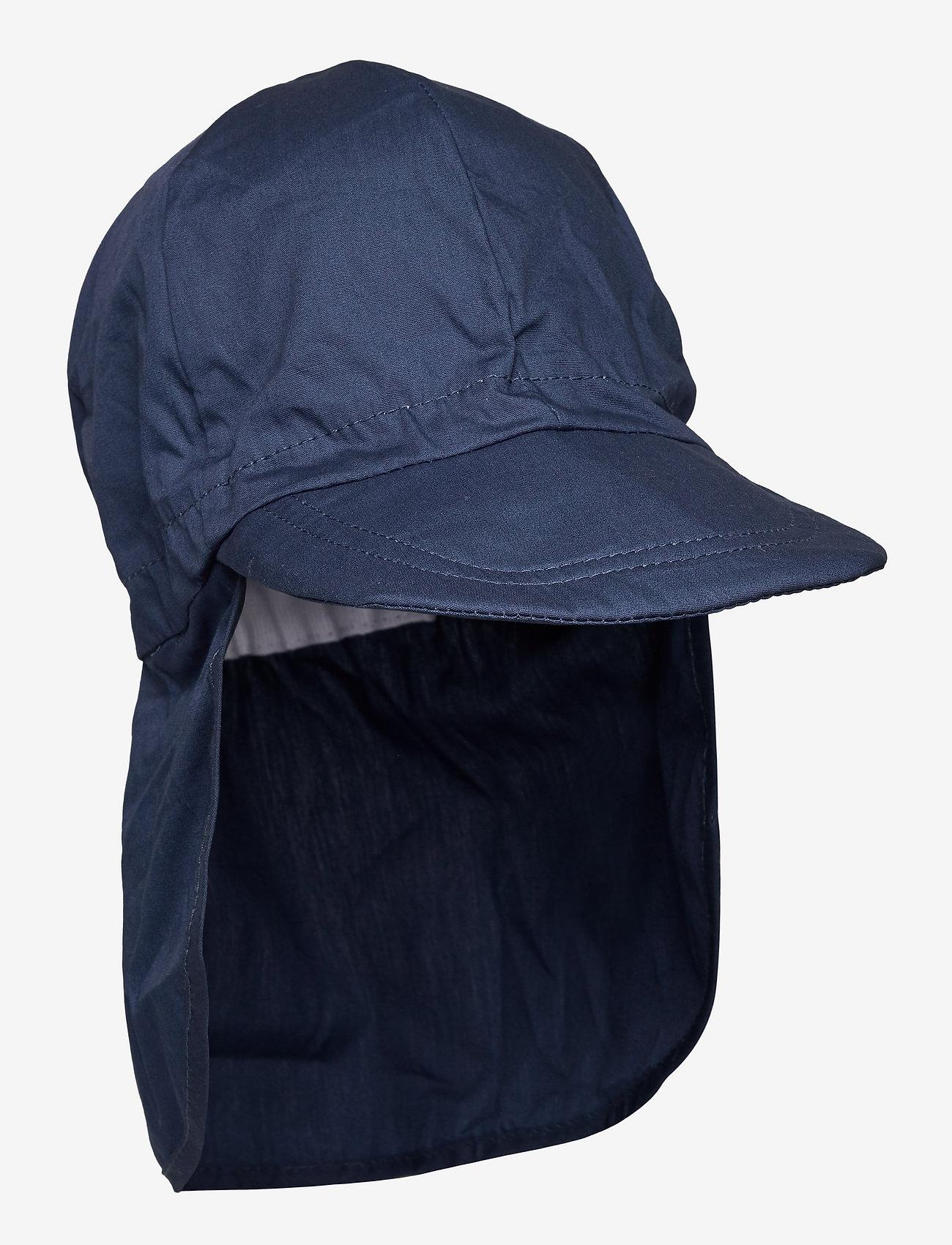 Melton - Cap w/neck - Solid colour - czapki i kapelusze - 285/marine - 0