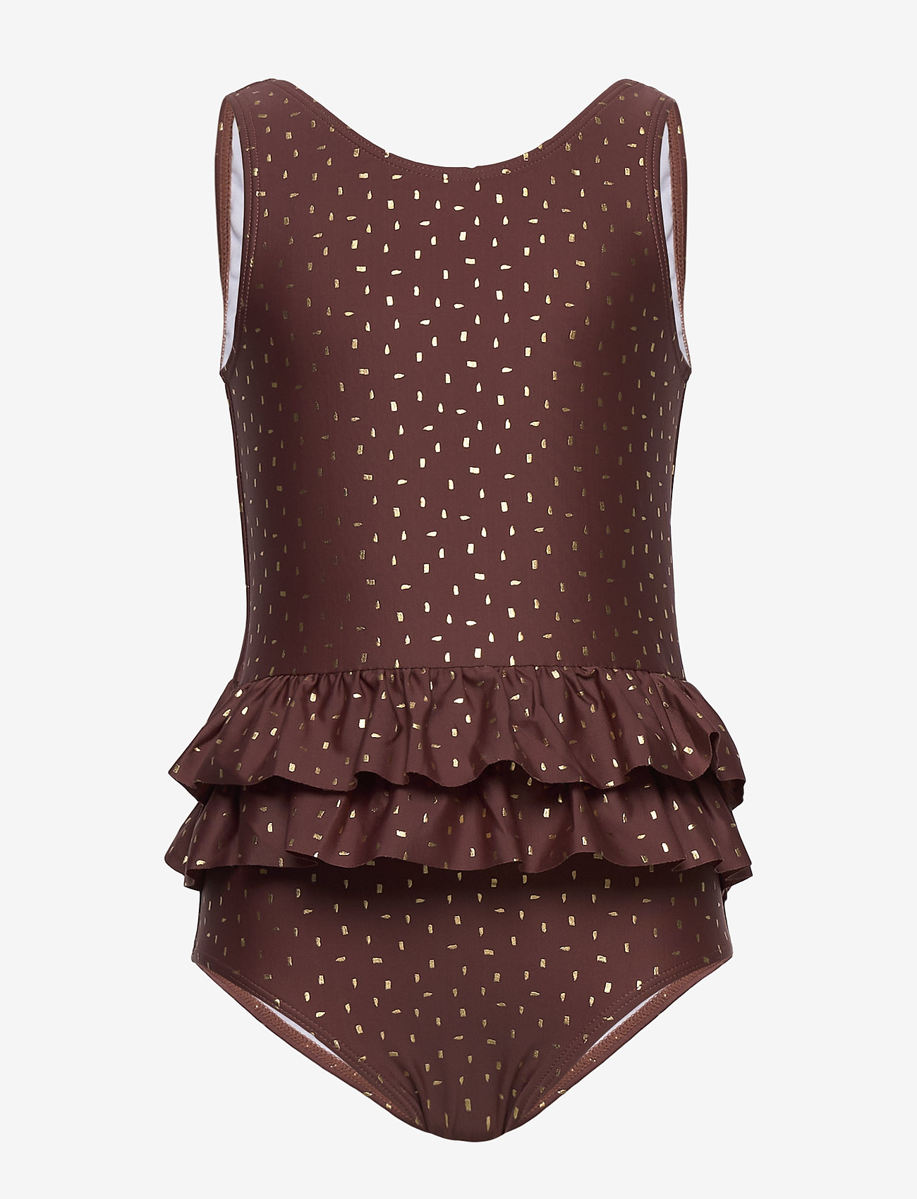 Melton - UV Swimsuit Gold - swimsuits - rose brown - 0
