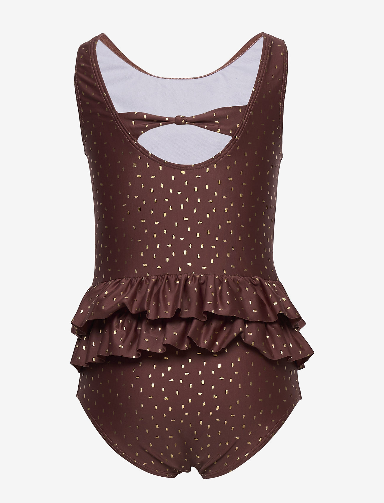 Melton - UV Swimsuit Gold - swimsuits - rose brown - 1