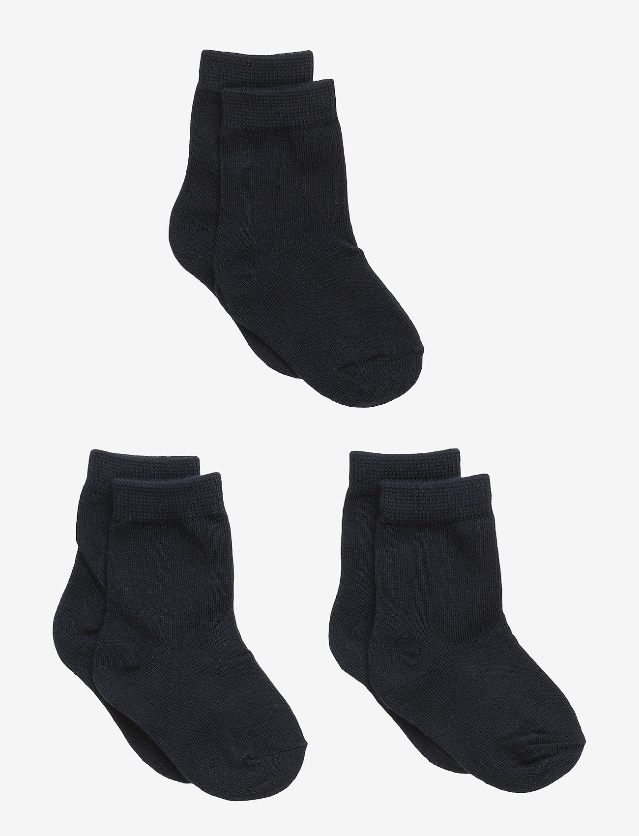 Melton - Numbers 3-pack Socks - Single - skarpetki - 285 / marine - 0