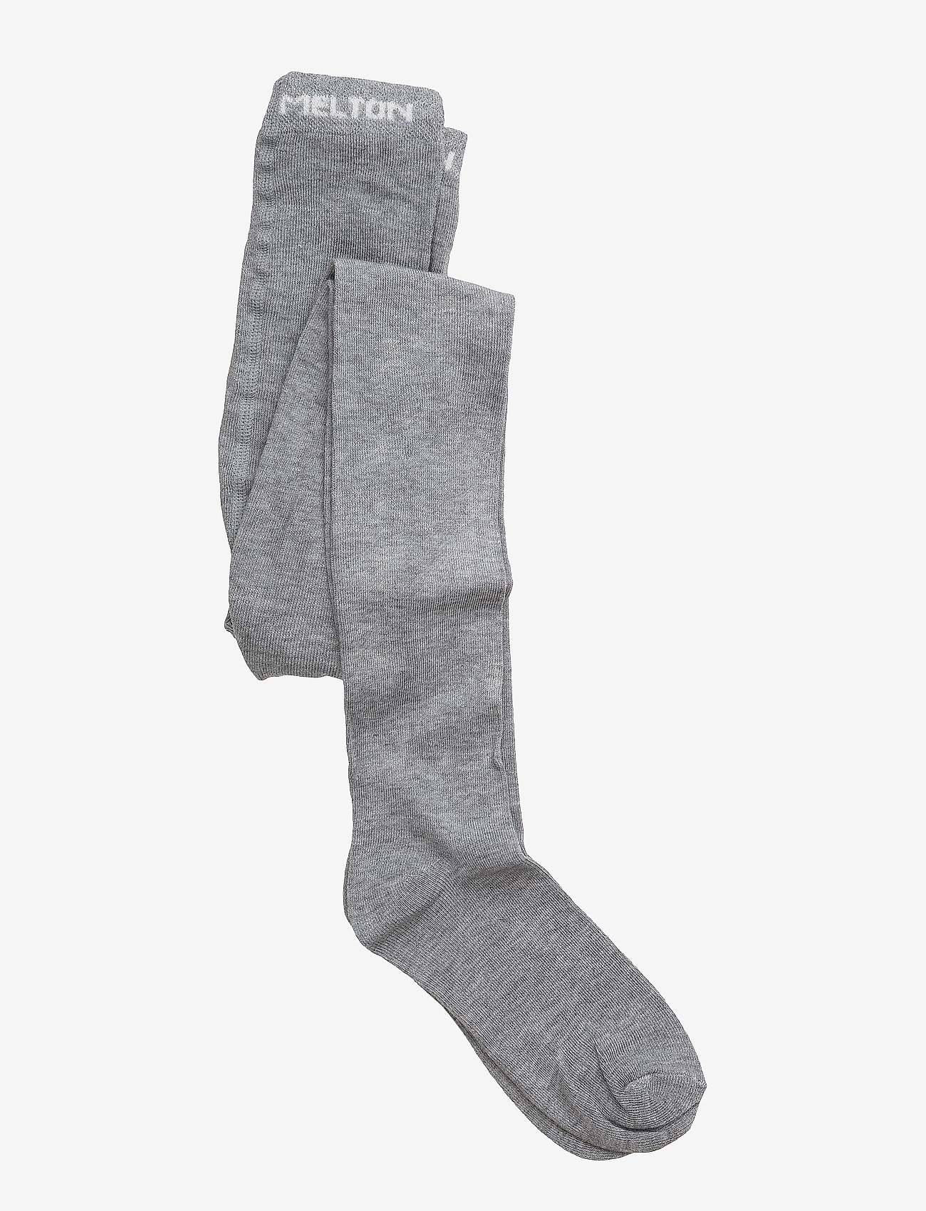 Melton - Tights, Bamboo Solid Basic - strømpebukser - 135 / light grey melange - 0