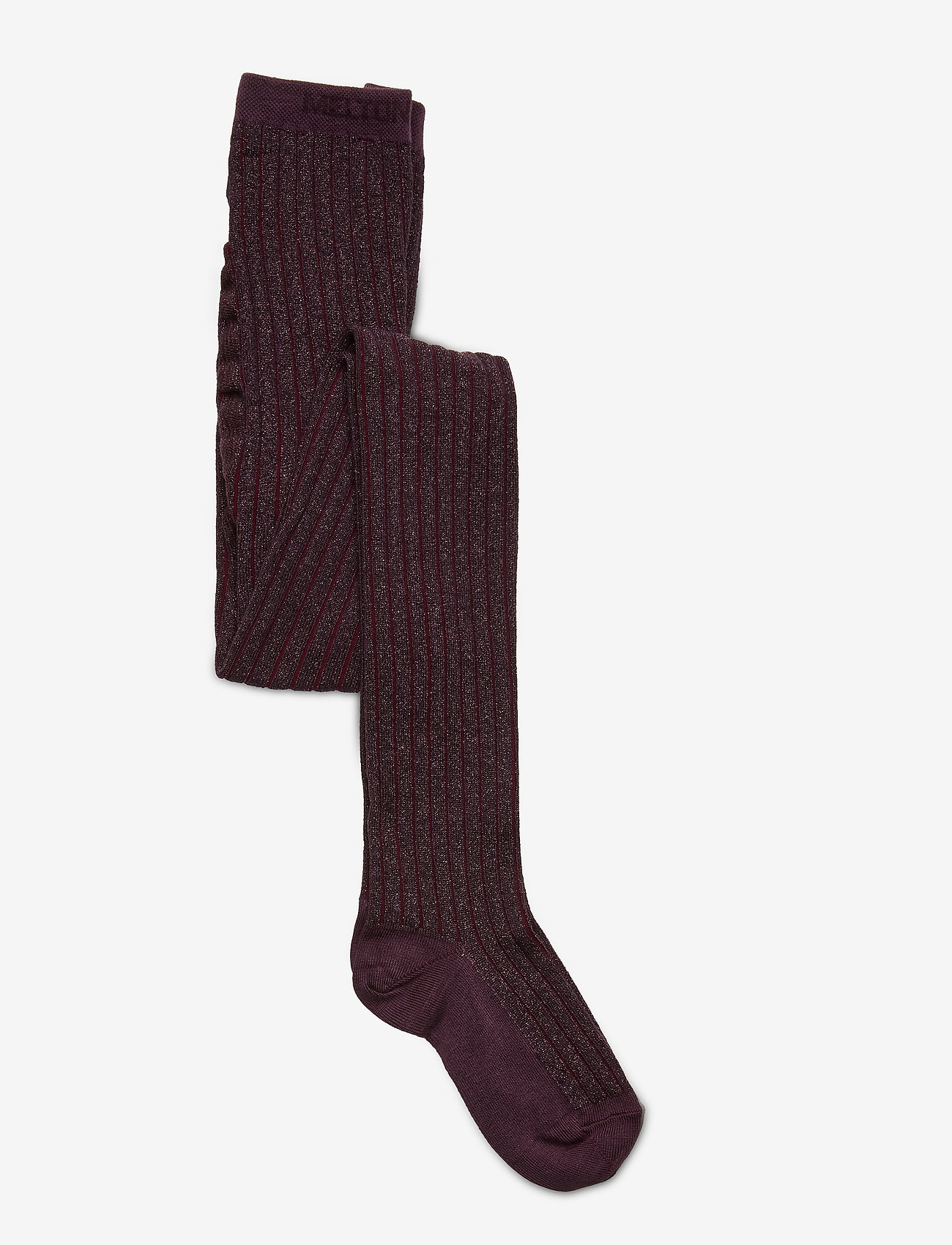 Melton - Bamboo Tights w. Lurex Solid C - rajstopy - lilac - 0
