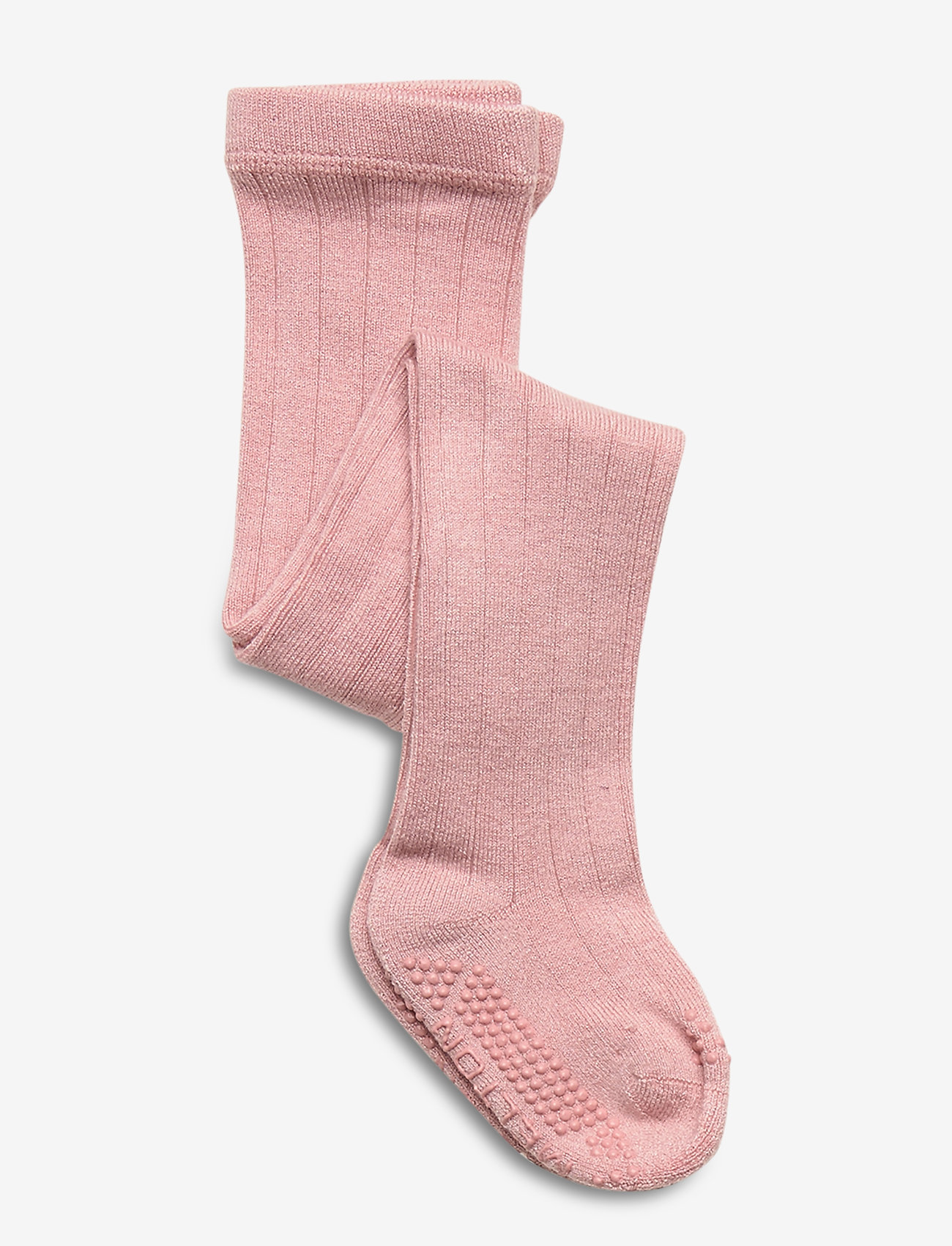 Melton - Bamboo/Wool Tights Structure - rajstopy - rose - 0