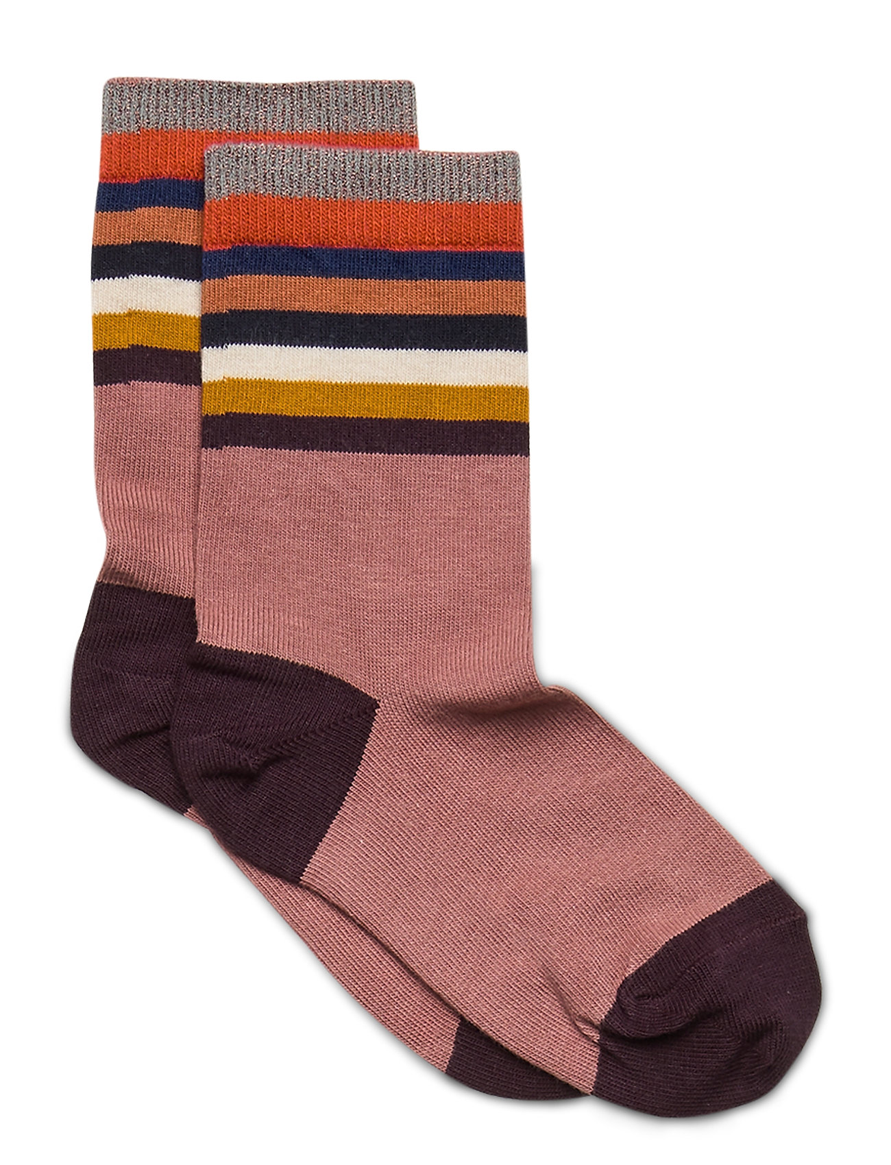 Image of Ankle Sock - Glitter Dots Sokker Strømper Brun Melton (3456635509)