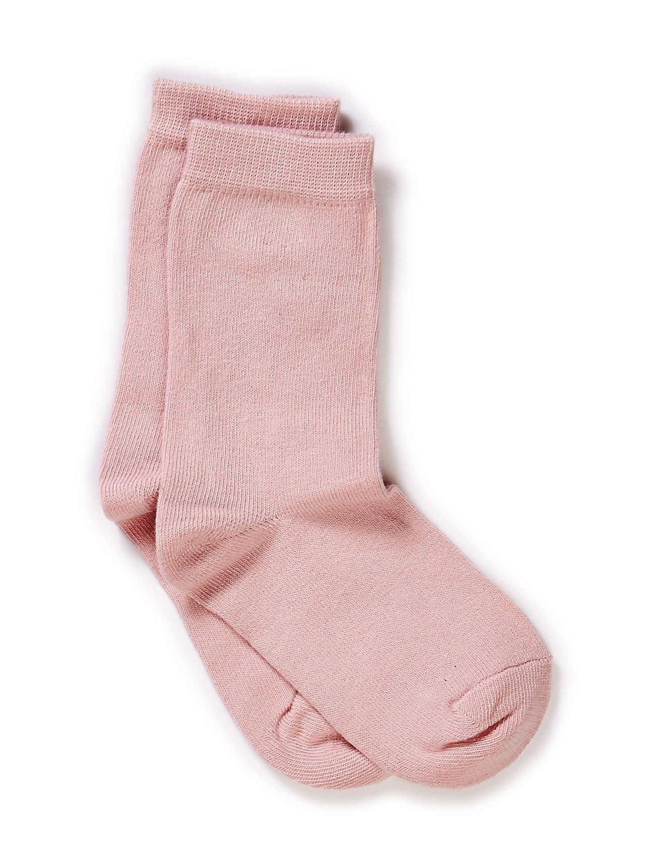 Melton Sock , plain colour - 509/WILD ROSE