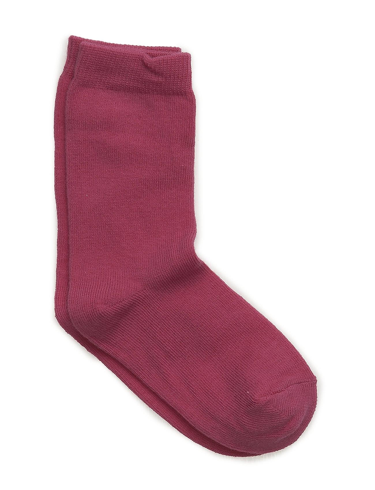 Melton Sock , plain colour - 525/PINK