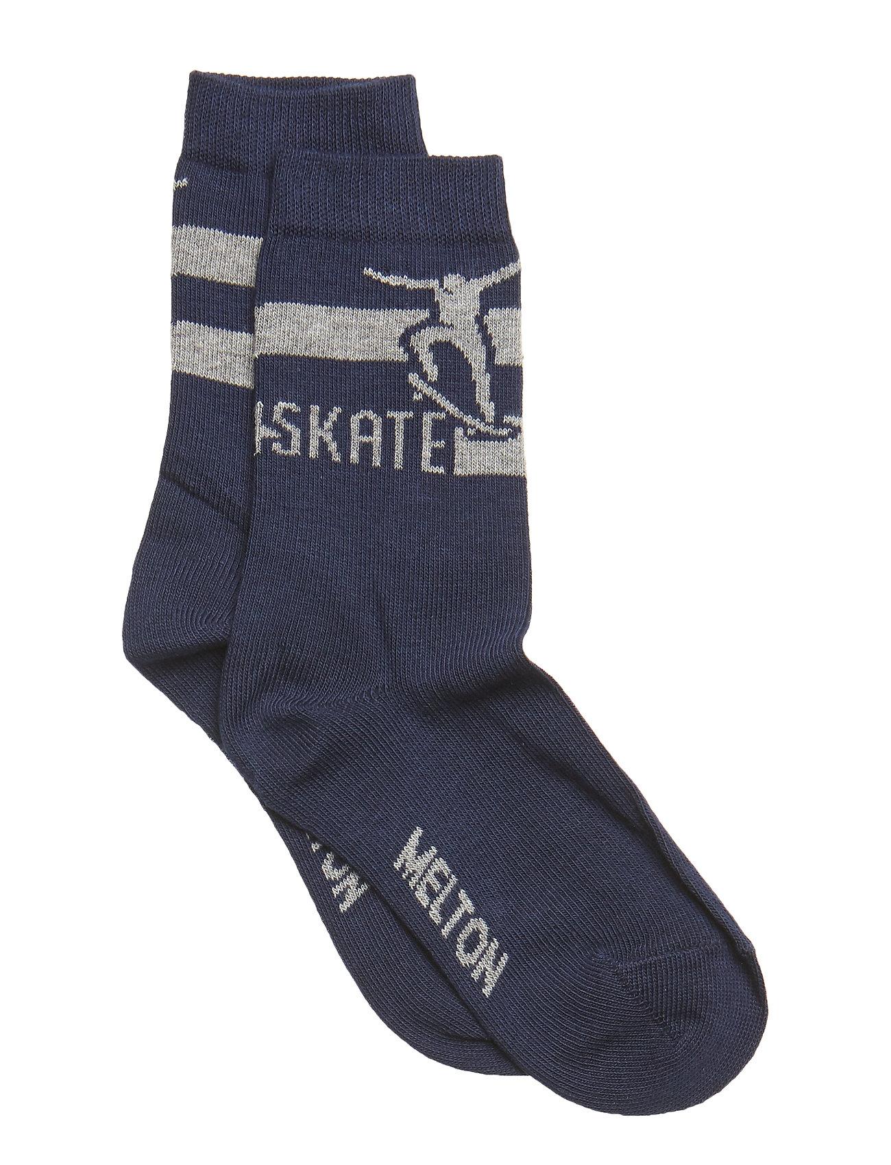 Melton Sock - Skate - MARINE