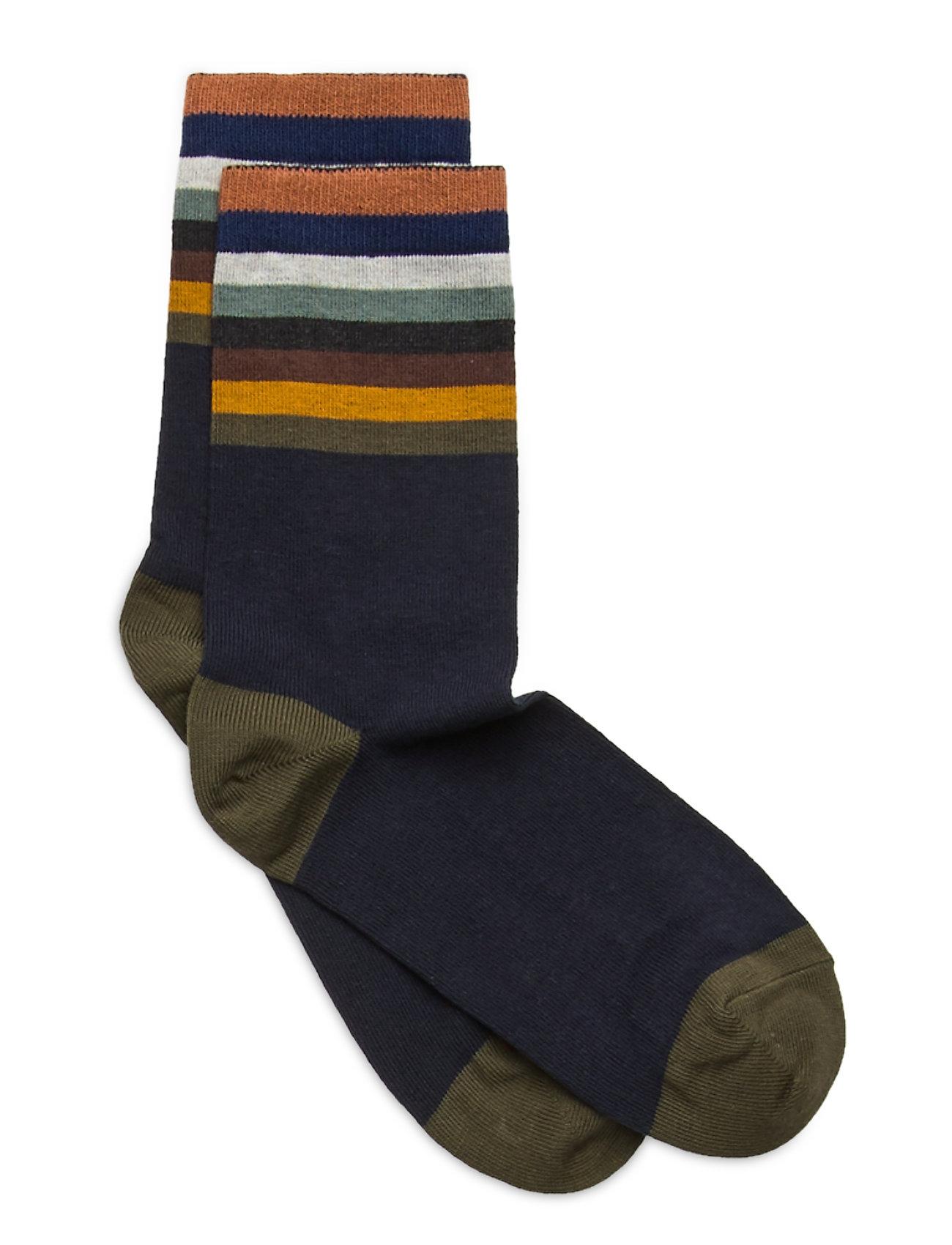 Image of Ankle Sock - Stars Sokker Strømper Blå Melton (3468425133)