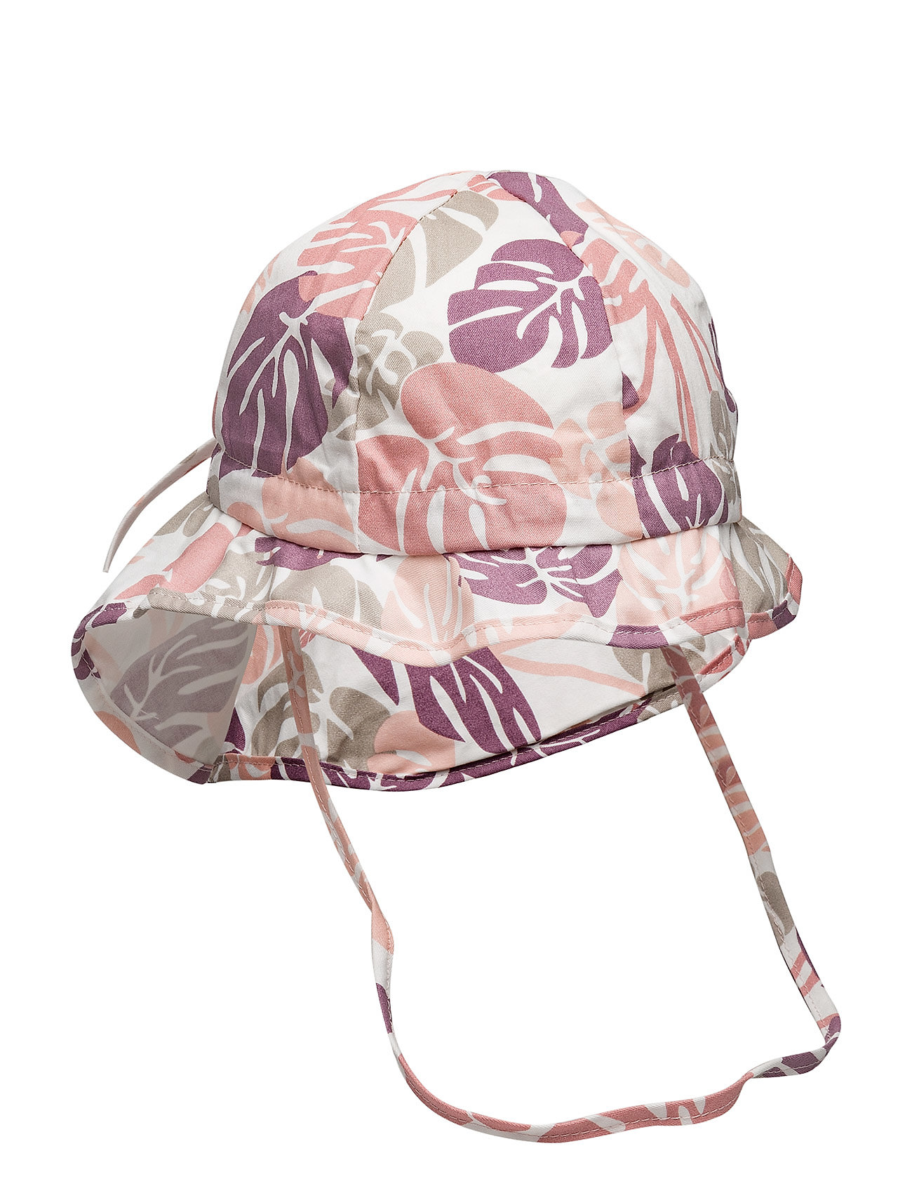 Melton Hat w/neck & bow, Summer Girl