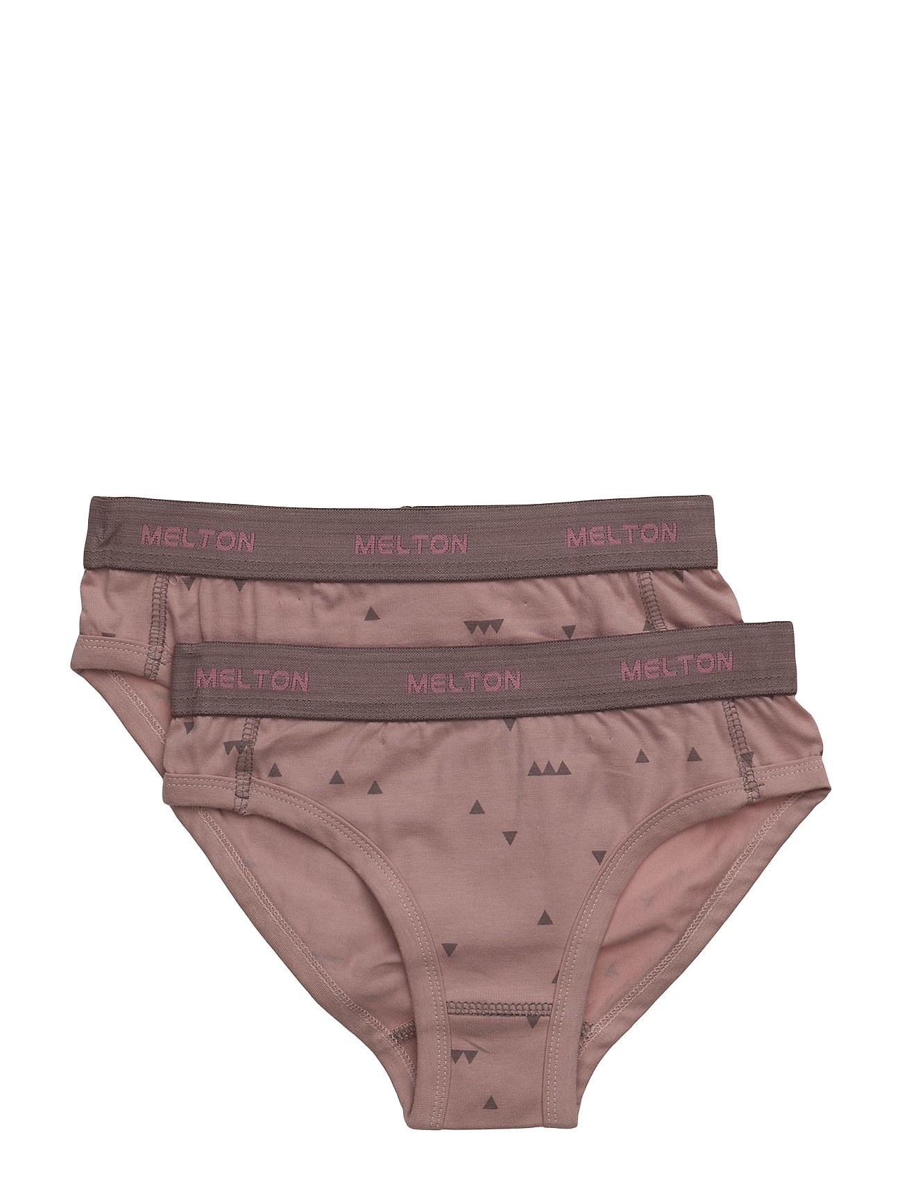 Melton Numbers, 2-pk AOP Girl Briefs - ALT ROSA
