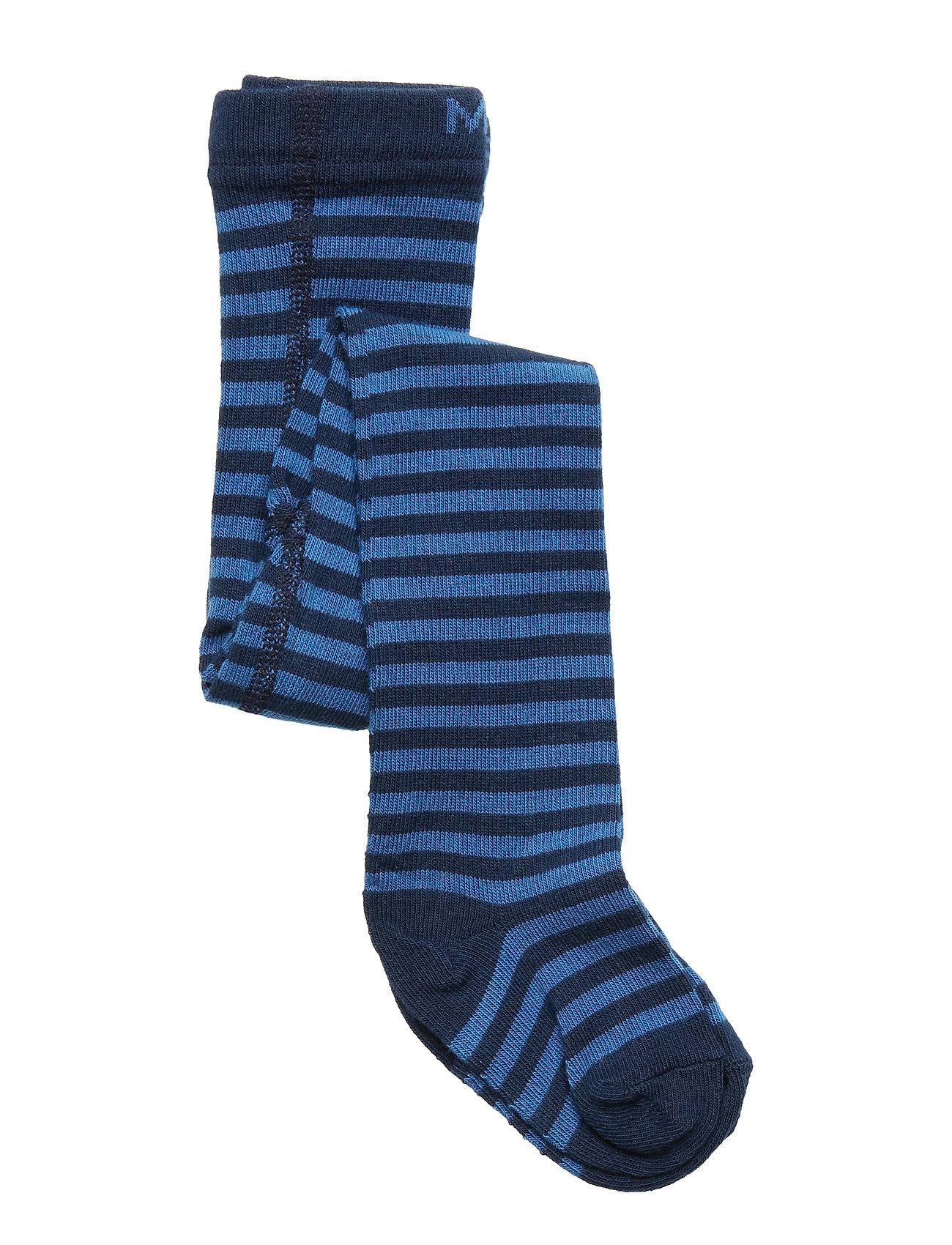 Melton Babytights - New Stripes - 239 DELFT BLUE