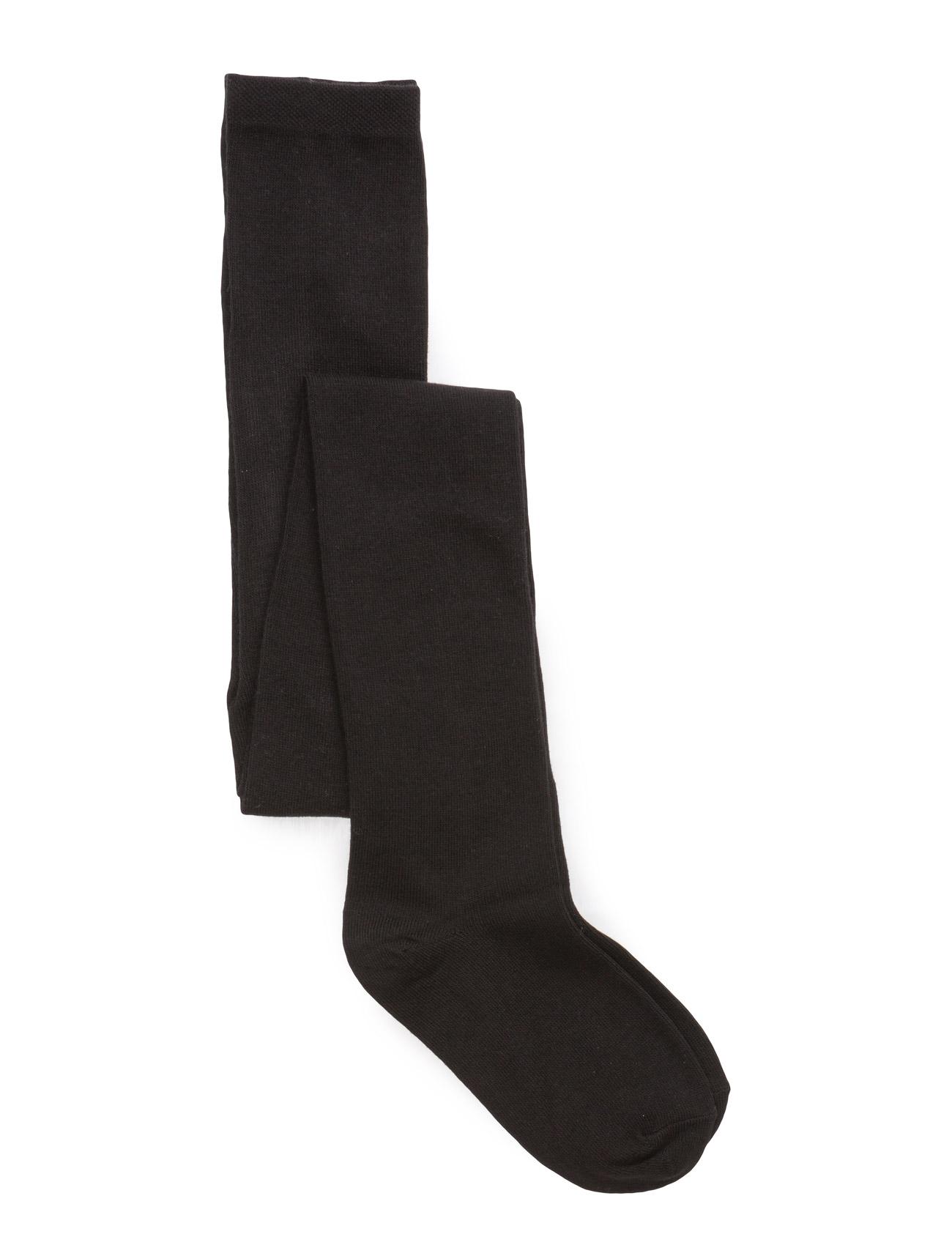 Image of Tight, Plain Colour Girls Socks & Tights Tights Sort MELTON (2382480729)