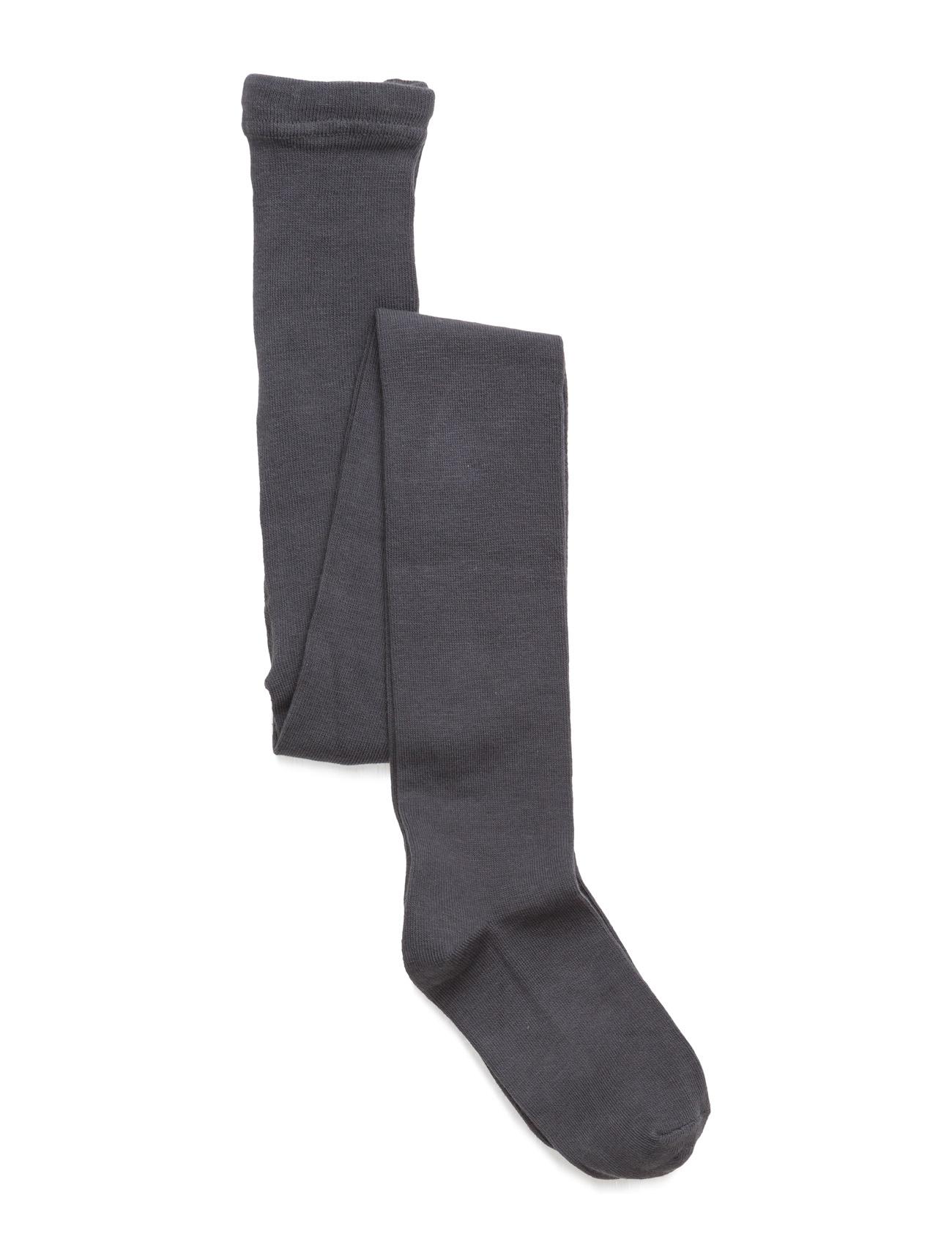 Image of Tight, Plain Colour Girls Socks & Tights Tights Grå MELTON (2382480785)